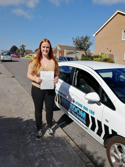 Julie was incredibly patient and calm which gave me confidence and has helped me pass my test first time! Would recommend Julie to anyone looking for consistent lessons with a very friendly instructor!<br />